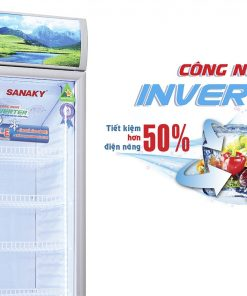 Tủ mát Sanaky VH-218K3L, 170 lít công nghệ tiết kiệm điện Inverter