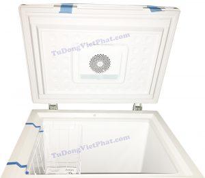 Quat turbo và dèn LED của tủ đông mini không đóng tuyết Aqua AQF-FG155ED