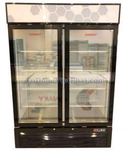 Tủ đông đứng mặt kính Sanaky VH-1368K, 1320 lít