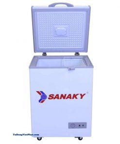 Tủ đông mini 100L Sanaky VH-1599HY dàn đồng