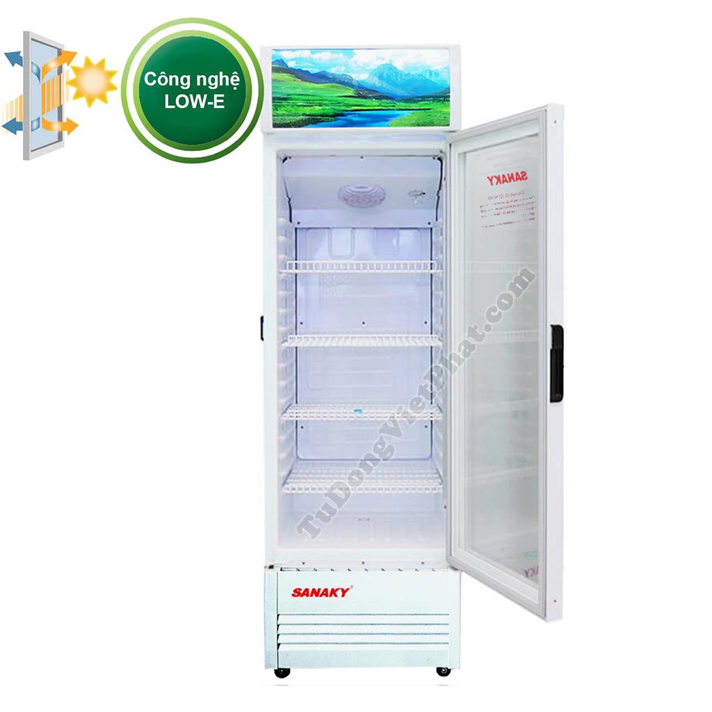 Tủ mát Sanaky VH-168KL, 150 lít công nghệ Low-e