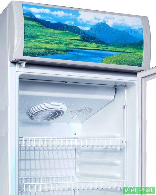 Bên trong tủ mát Sanaky VH-218K3L