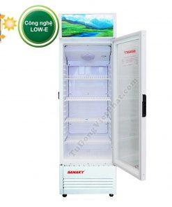 Tủ mát Sanaky VH-218KL, 200 lít công nghệ Low-E