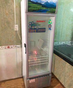 Tủ mát Sanaky VH-258K3L, 200 lít Inverter công nghệ Low-E