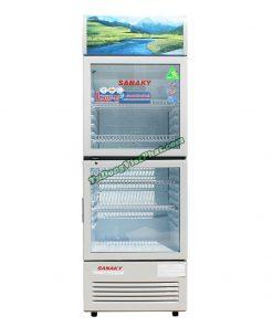Tủ mát Sanaky VH-258WL, 200 lít 2 cánh trên dưới