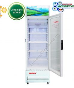 Tủ mát Sanaky VH-358K3L, 350 lít Inverter công nghệ Low-E