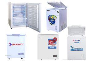 Top 5 tủ đông mini giá rẻ tốt nhất cho gia đình