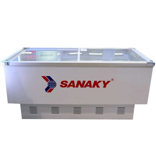 Tủ đông Sanaky VH-8099K, mặt kính phẳng 800 lít