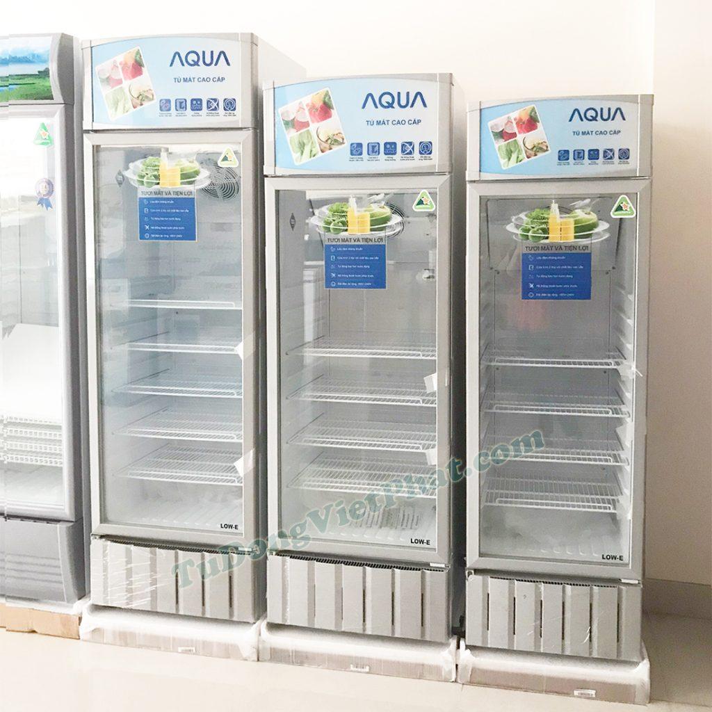 Tủ mát AQUA AQS-F318S, 240 lít kháng khuẩn LOW-E