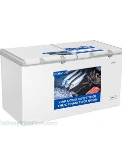 Tủ đông AQUA AQF-C5702E Inverter 365L 2 ngăn đông mát