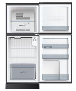 Tủ lạnh AQUA 143 Lít AQR-T150FA (BS) ngăn đông trên