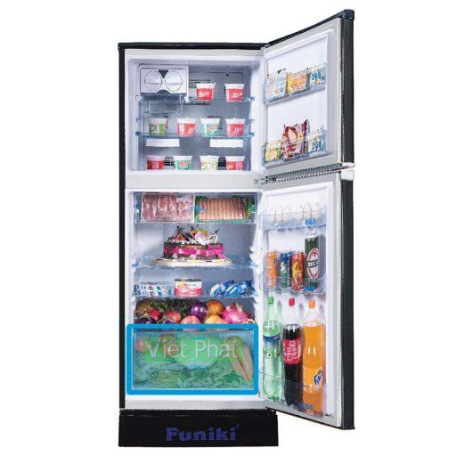 Bên trong tủ lạnh Funiki FR-136ISU