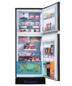 Bên trong tủ lạnh Funiki FR-166ISU
