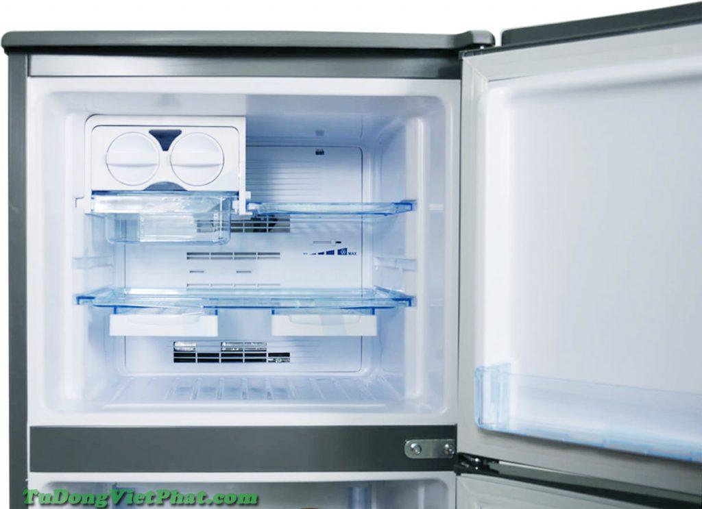 Ngăn đá của tủ lạnh Funiki FR-125CI tủ mini 125 lít