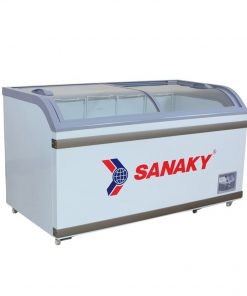 Tủ đông Sanaky VH-888K, mặt kính cong 500 lít