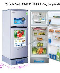 Tủ lạnh Funiki FR-125CI 125 lít không đóng tuyết