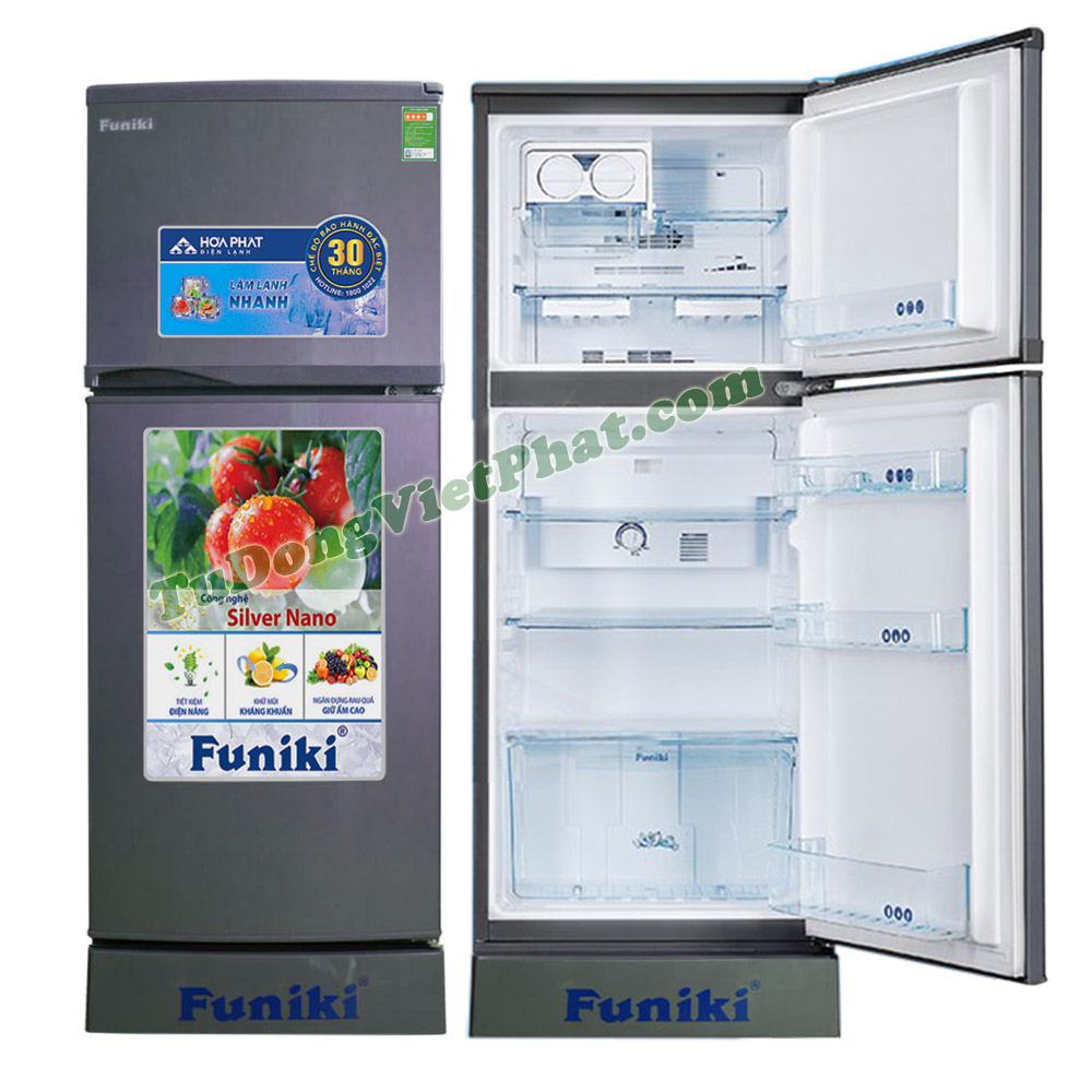 Tủ lạnh Funiki FR-125CI tủ mini 2 cánh 125 lít không đóng tuyết