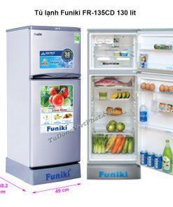 Tủ lạnh Funiki FR-135CD 130 lít