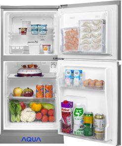 Tủ lạnh mini AQUA 123 Lít AQR-125EN không đóng tuyết