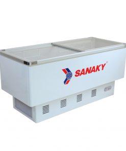 Tủ đông Sanaky VH-899K mặt kính phẳng 800L