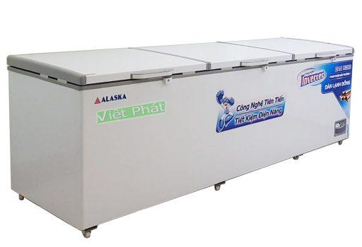 Tủ đông Alaska HB-1100CI Inverter 1100L 1 ngăn đông 3 nắp dỡ