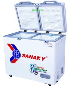 Tủ đông Sanaky INVERTER VH-2899A4K mặt kính cường lực