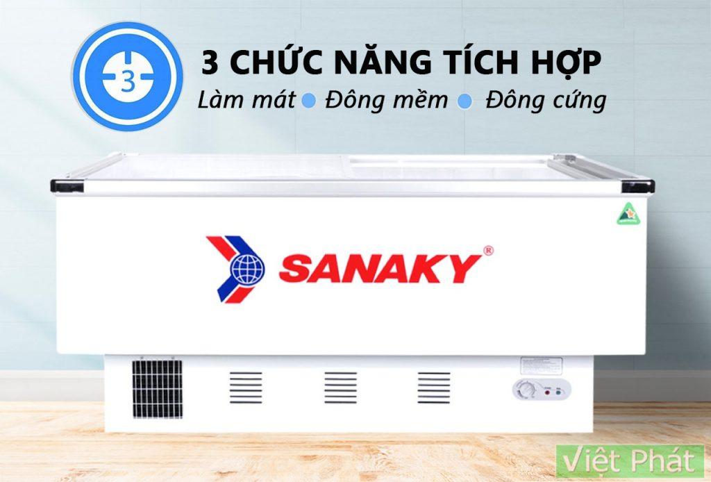 Tủ đông Sanaky VH-999K tích hợp 3 chức năng