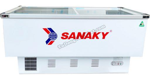 Tủ đông Sanaky VH-999K mặt kính phẳng 800L