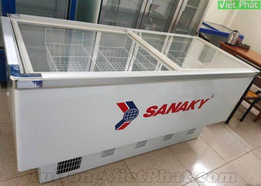 Tủ đông Sanaky VH-999K mặt kính phẳng