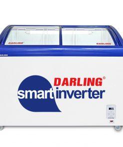 Tủ kem mặt kính Inverter Darling DMF-4079ASKI, 400L