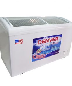 Tủ đông mặt kính Denver AS 559K 360L lòng INOX