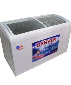 Tủ đông mặt kính Denver AS 559K 360L lòng chống dính