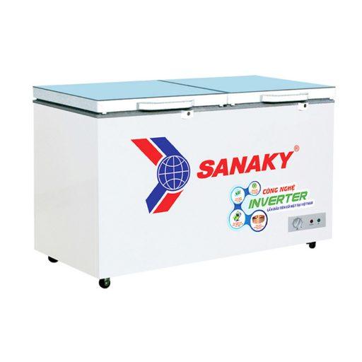 Tủ đông Sanaky INVERTER VH-4099A4KD mặt kính cường lực