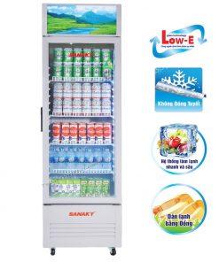 Tủ mát Sanaky VH-219KL, 170 lít dàn đồng