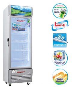 Tủ mát Sanaky 400L VH-409K3L Inverter dàn đồng