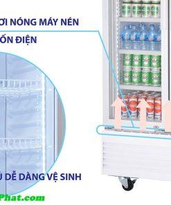 Hệ thống sấy kính tủ mát Sanaky VH-1209HP