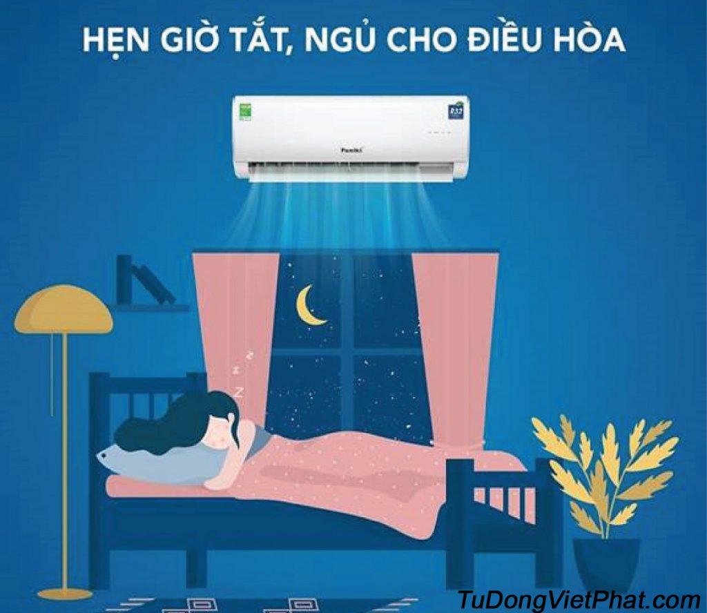 Điều Hòa Funiki cài đặt chế độ SLEEP