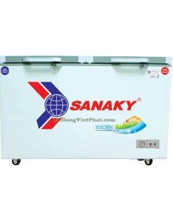 Tủ đông Sanaky VH-3699W2K 270L mặt kính cường lực (xám)
