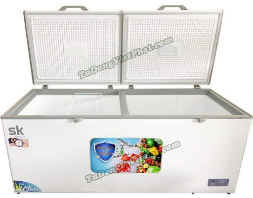 Bên trong tủ đông Sumikura SKF-550S