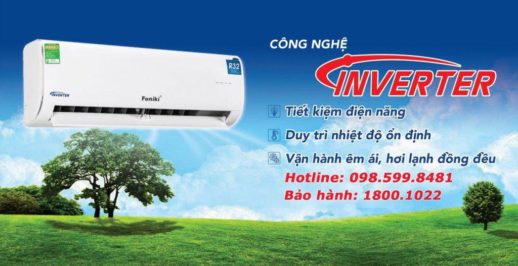 Điều hòa Funiki 9000 BTU 1 chiều Inverter HIC09MMC