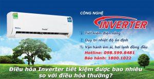 Điều hòa Inverter tiết kiệm điện bao nhiêu so với điều hòa thường ?