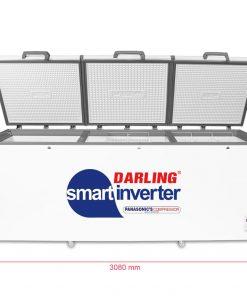 Tủ đông Darling DMF-1579ASI Inverter 1700L 3 cánh