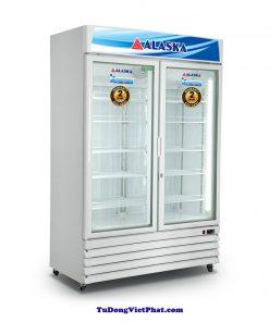 Tủ đông đứng mặt kính Alaska FC-100G2 800L
