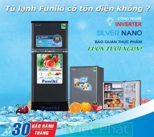 Tủ lạnh Funiki có tốn điện không ?