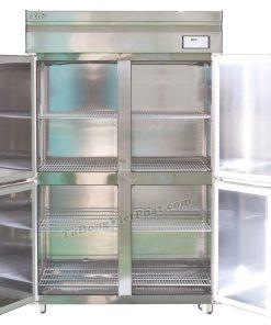 Bên trong tủ đông Inox công nghiệp Happys HWA-45CF, 1100 lít 4 cánh