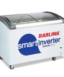 Tủ kem mặt kính Inverter Darling DMF-6079ASKI, 650L