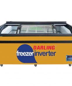 Tủ đông siêu thị Darling DMF-10079ASKI 4 kính cong 2 bên