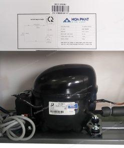 Máy nén của tủ đông đứng Hòa Phát HUF 350SR1 147 lít 5 ngăn