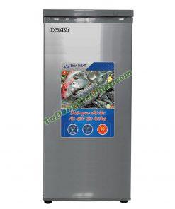 Tủ đông đứng Hòa Phát HUF 450PR1 208 lít 7 ngăn (xanh)