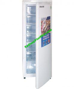 Tủ đông đứng Hòa Phát HUF 450SR1 208 lít 7 ngăn